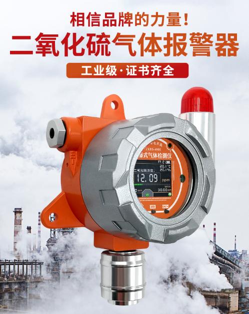 防爆式二氧化硫传感器